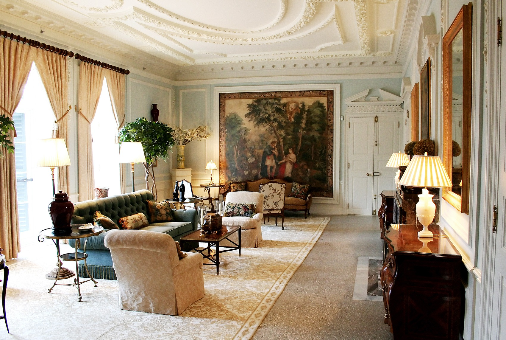 The Mount Drawing Room 4 by David Dashiell