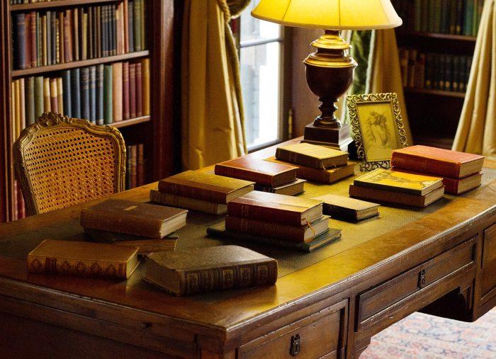 Wharton's Library photo by Jody Christopherson