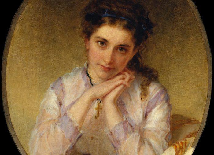 Minnie Jones, painted in 1868, Metropolitan Museum of Art