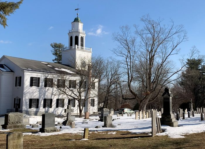 The Cemetery at the Church on the Hill
