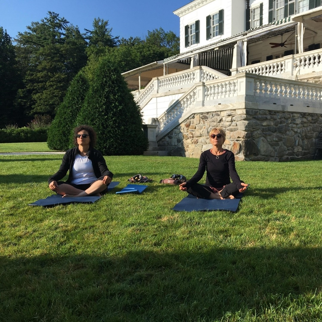 Outdoor Yoga at The Mount