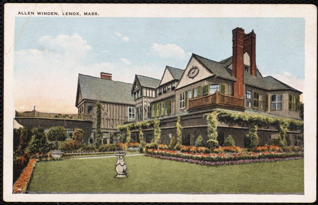Allen Winden Postcard, early 1900s