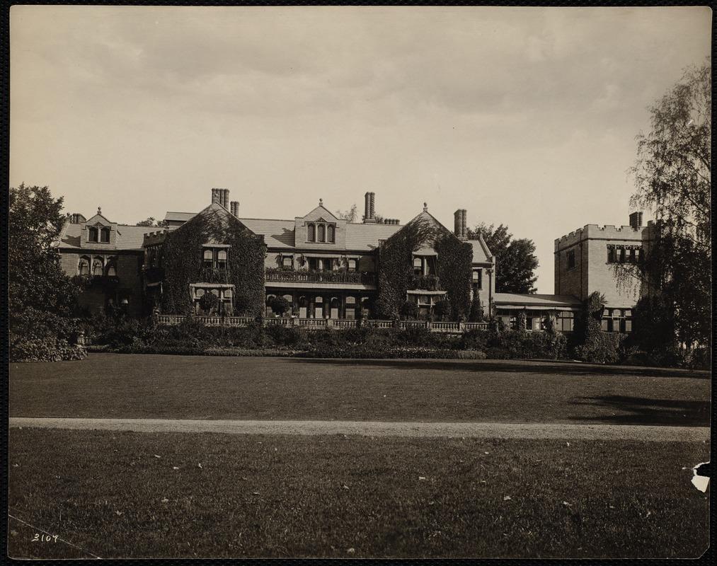 Photograph of Wyndhurst, 1910
