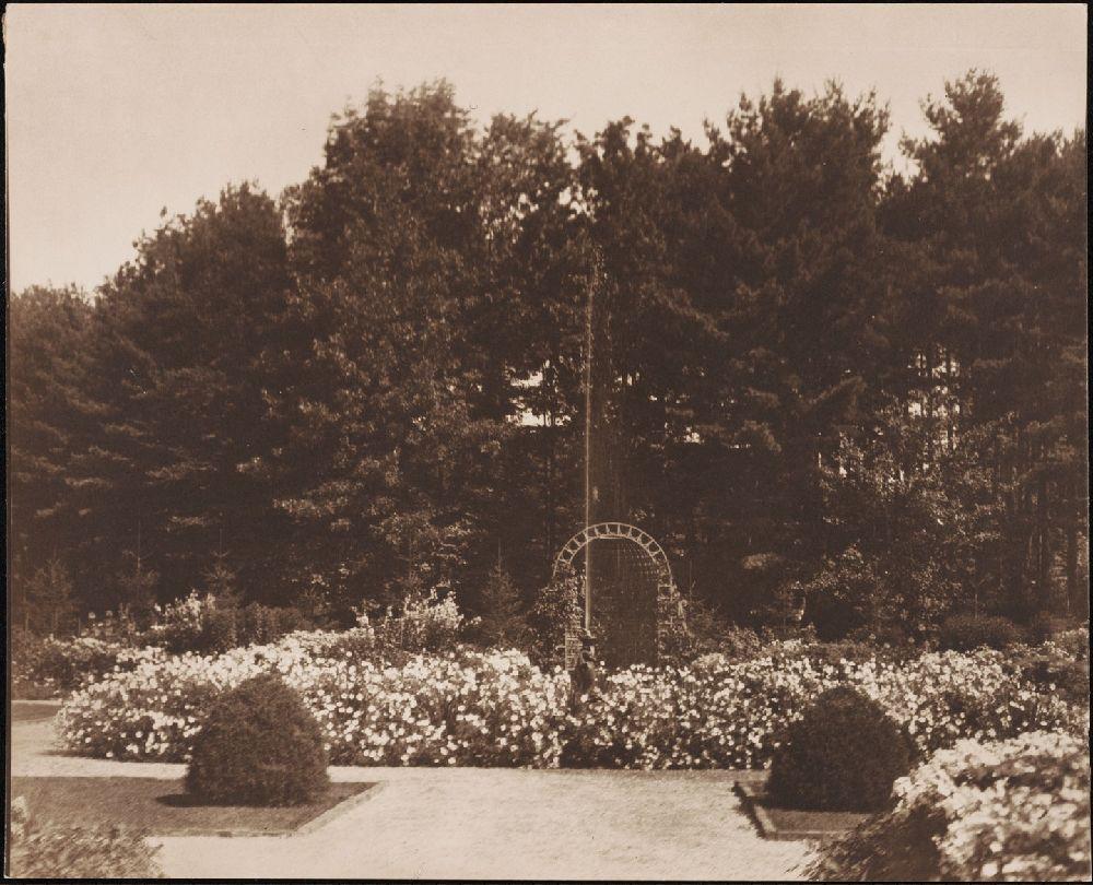 The Mount flower garden